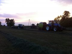 New Holland T7.210 & New Holland T6030