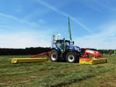 New Holland T7.270 Blue Power&Pottinger 12m