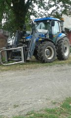 New Holland TD 5030 + Quicke Q35