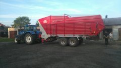 NH t7,170 -Lely Tigo MR 60 D Profi