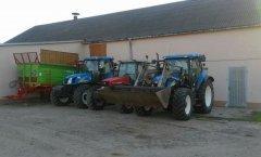 Unia Tytan 11 & NH T6050 RC & MF 4360 & NH TS125A PLUS