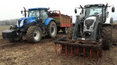 Valtra N123 & New Holland T7 170