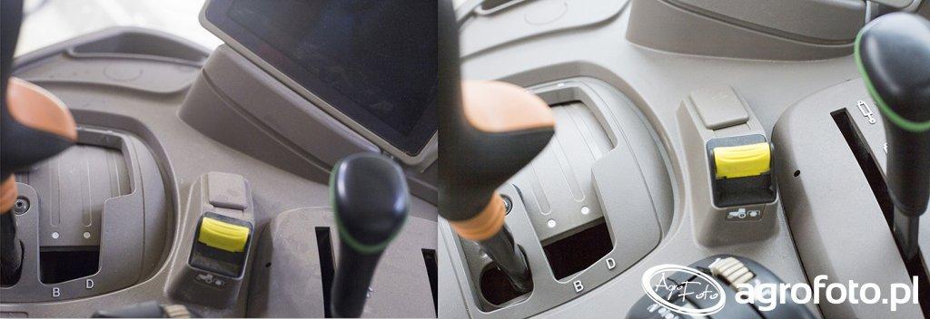 John Deere 6140r - odnowa lakieru - kabina - przed i po