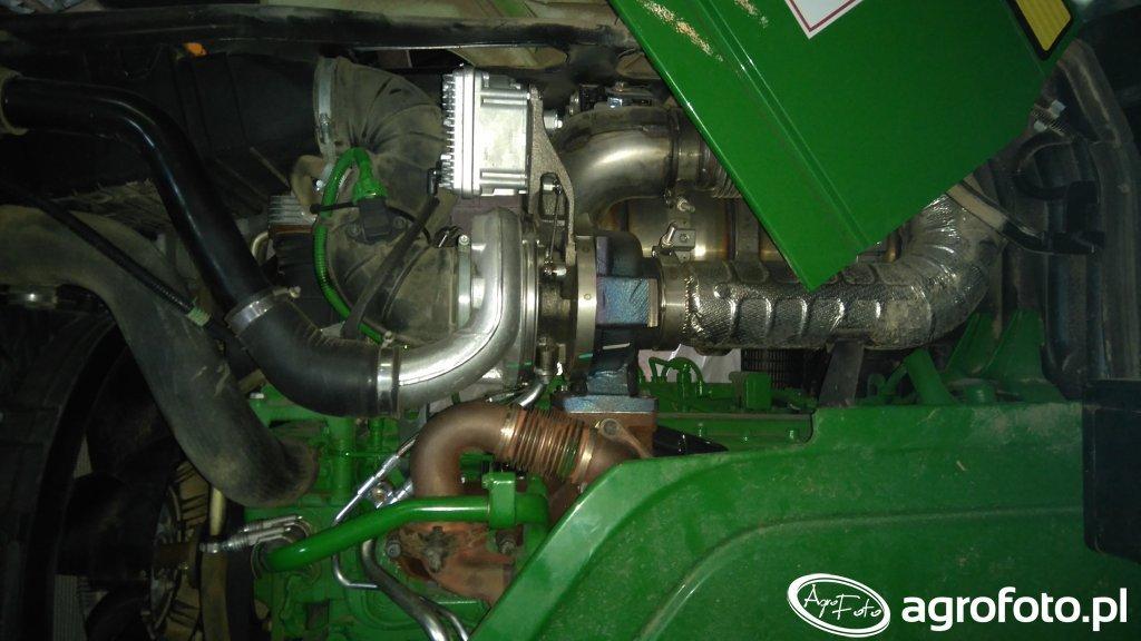 John Deere 6150m modernizacja układu doładowania