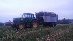John Deere 6150M + Auto-Agro