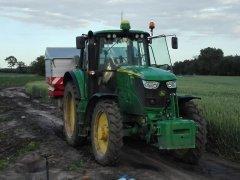 John Deere 6150M i Kwerneland