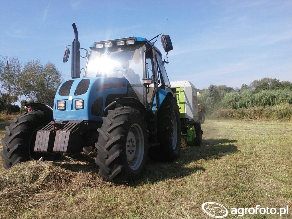 Pronar 1025A &  Claas Rollant 240