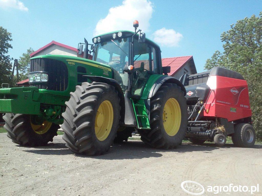 JD 6930 Premium  + Kuhn VB 2160