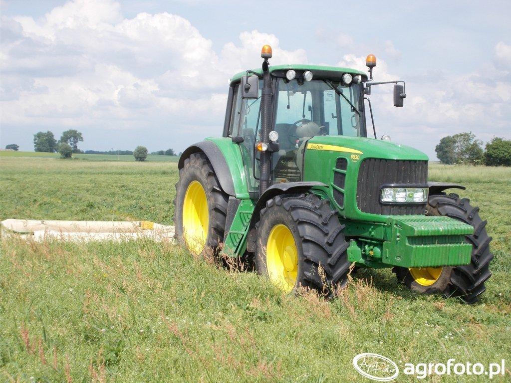 John Deere 6530 Premium + Krone AM 243
