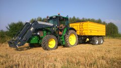 John Deere 6430 Premium + Wielton