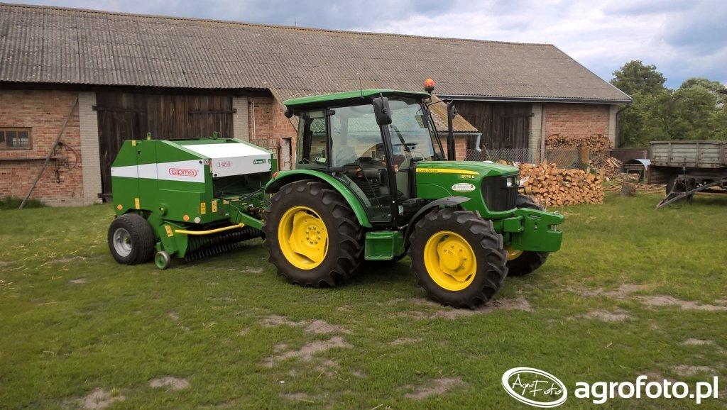 John Deere 5075e & Sipma Farma z279/1 II
