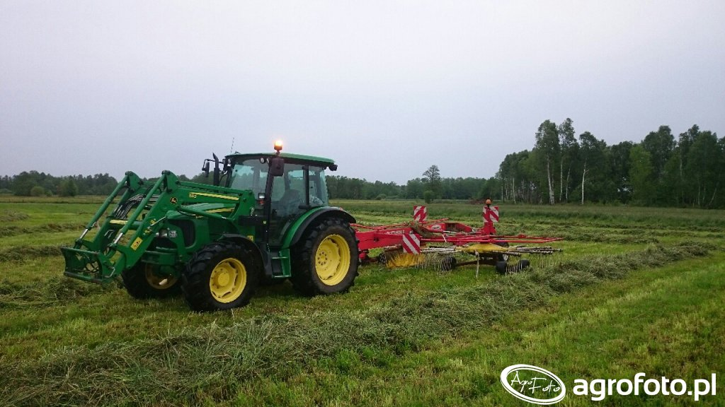 John Deere 5080r \u0026 Pottinger