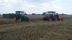 John Deere 5080M & Pronar T653/1 , Zetor 8441 & Warfama Z-543