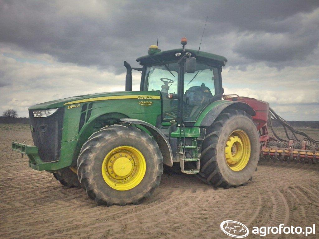 John Deere 8310R \u0026 Vaderstad Spirit 600S XL