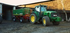 John Deere 6620 Premium + Metaltech DB10