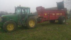 John deere 6610 i metalfach 12 ton
