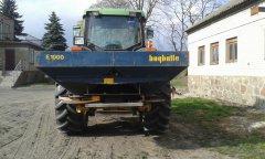 John Deere 6610 + Bogballe E1000