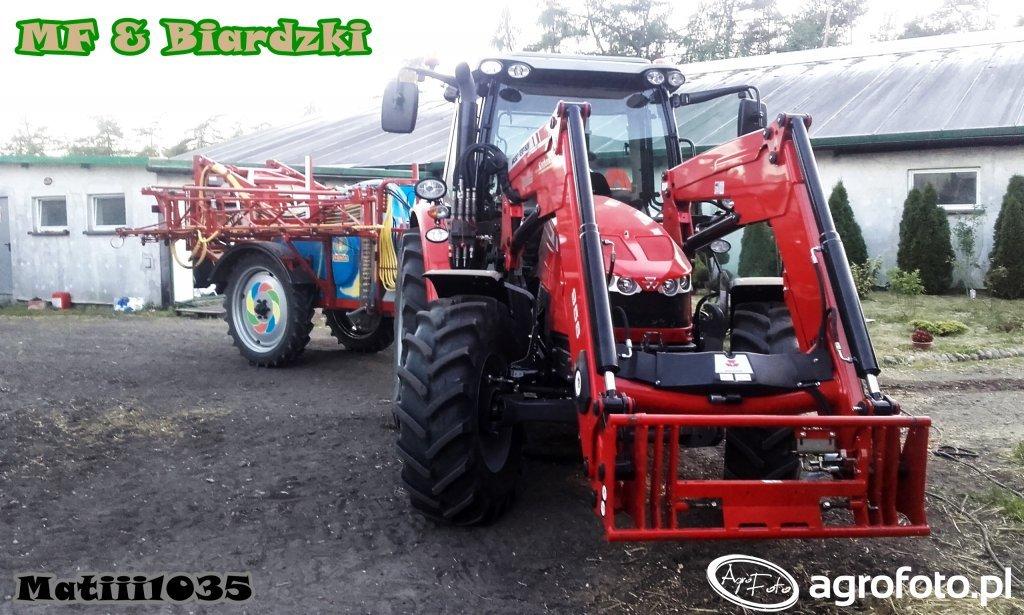 Massey Ferguson 5609 + Biardzki P329/14 2200L