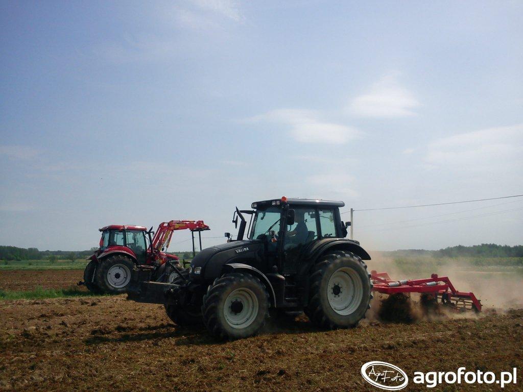 Valtra N111e + Agrofactory & Pronar 5340