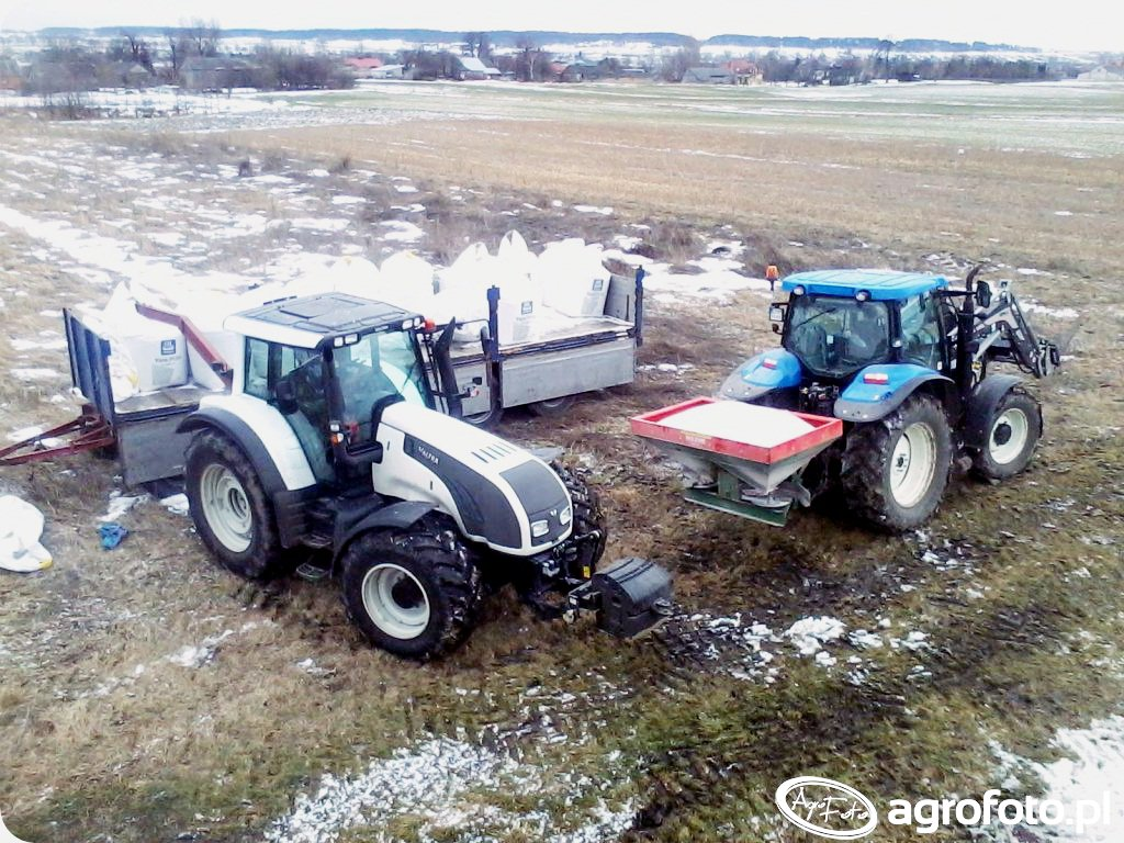 Valtra T-162E & New-Holland T-6020 Plus