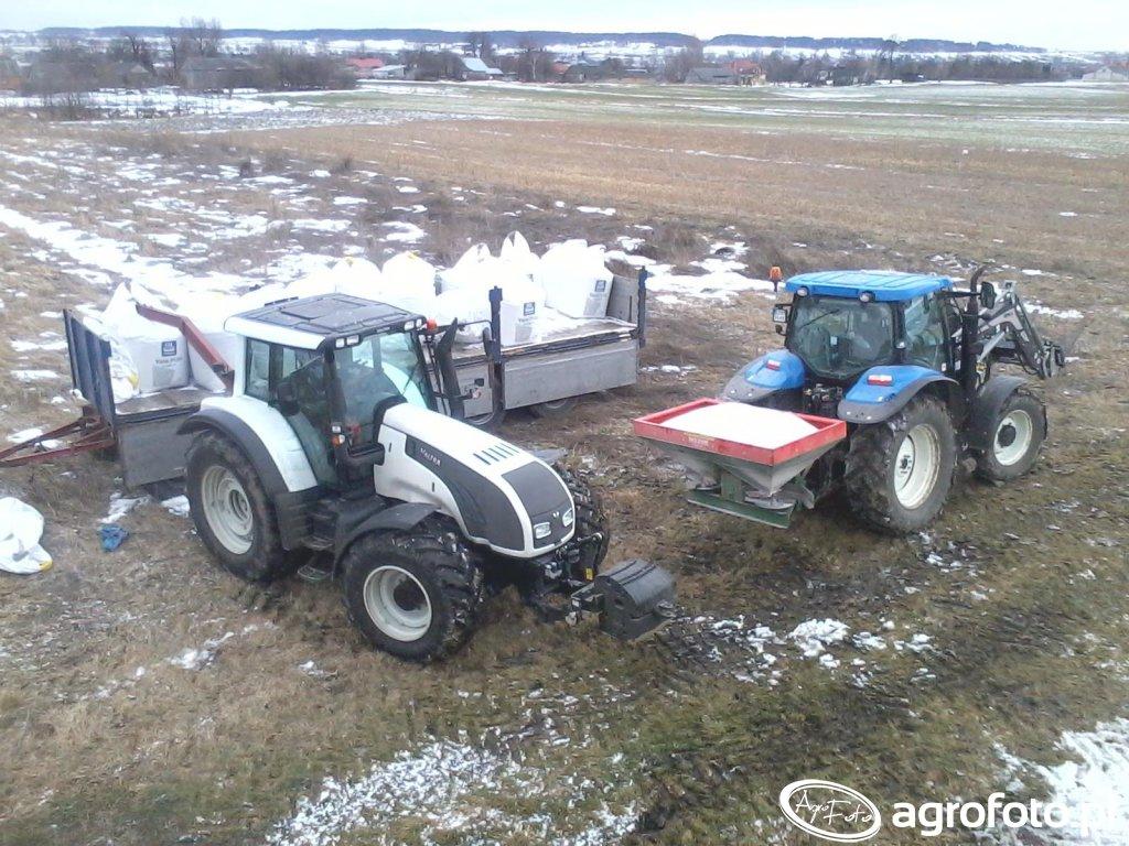 Valtra T162 & NH T6020 Plus