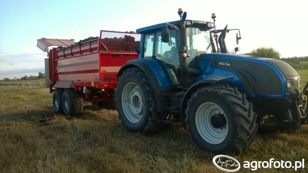 Valtra t202 +Unia tytan Premium 18 t