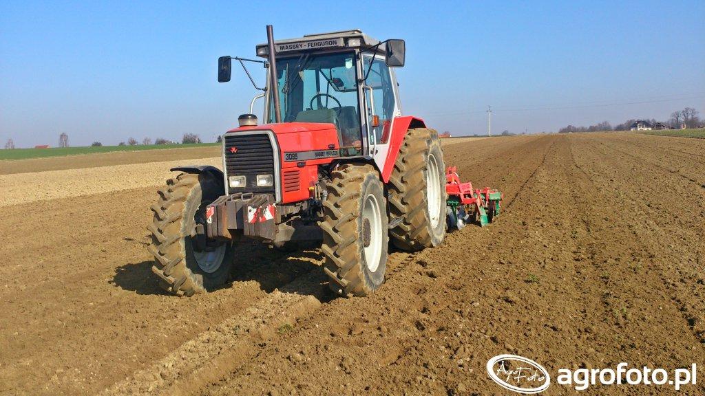 Massey Ferguson 3095 i Agro-Masz BT30