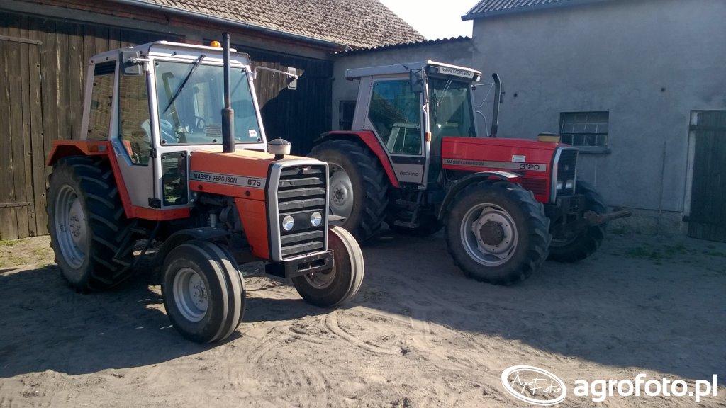 MF 675 i MF 3120