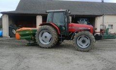 Massey Ferguson 4360 & Amazone ZA-M 1001