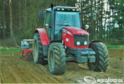 Massey Ferguson 5455 & Grano-System & Poznaniak