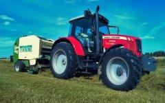 Massey Ferguson 5455 & Krone Vario Pack 1600