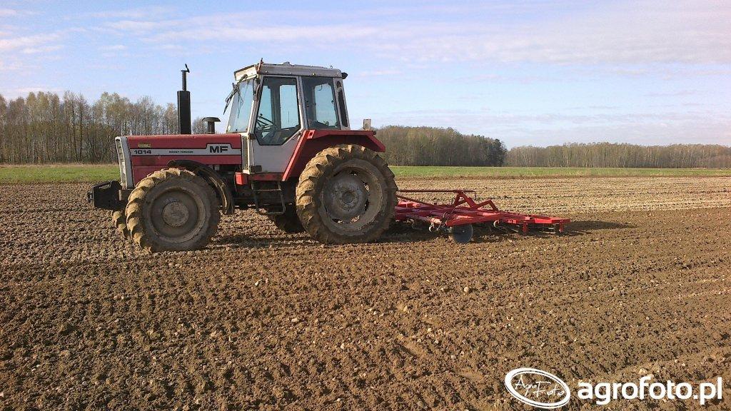 Massey Ferguson 1014 i Agregat uprawowy Agrosam 3.3m