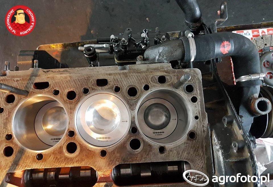 MF255 - remont silnika
