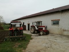 Massey Ferguson 255 & Case International 946