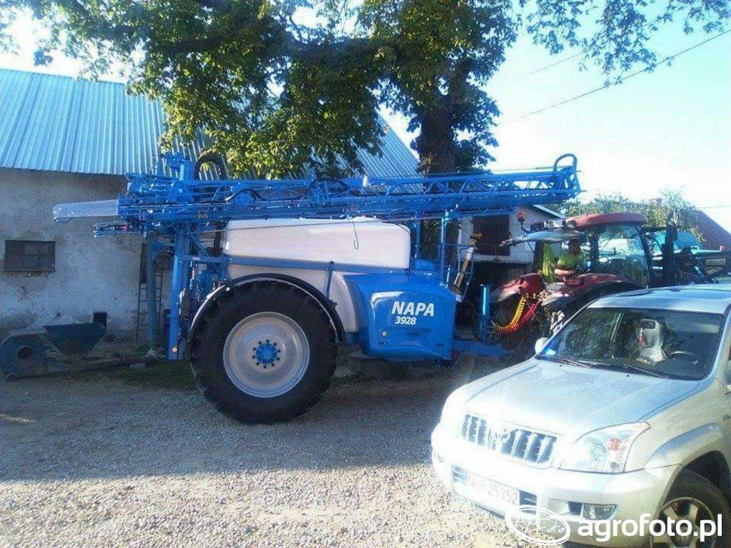 Agrio Napa 3928 nowa maszyna w gospodarstwie :D