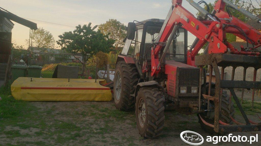 Belarus 952 & fella sm 320
