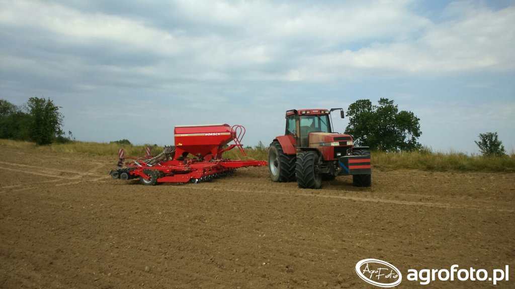Case 7240 & Horsch Pronto 6 DC