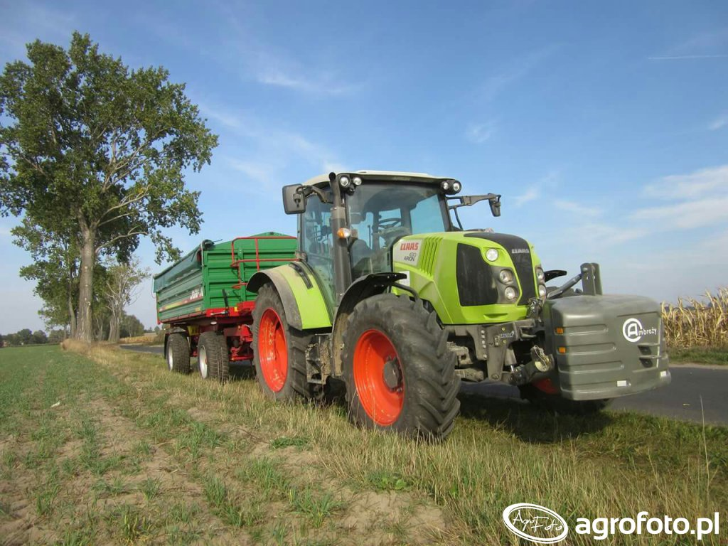 Claas  Arion 430  :D