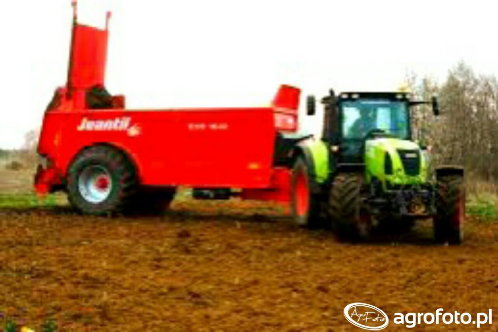 Claas arion 630 cis i jeantil evr 16-12