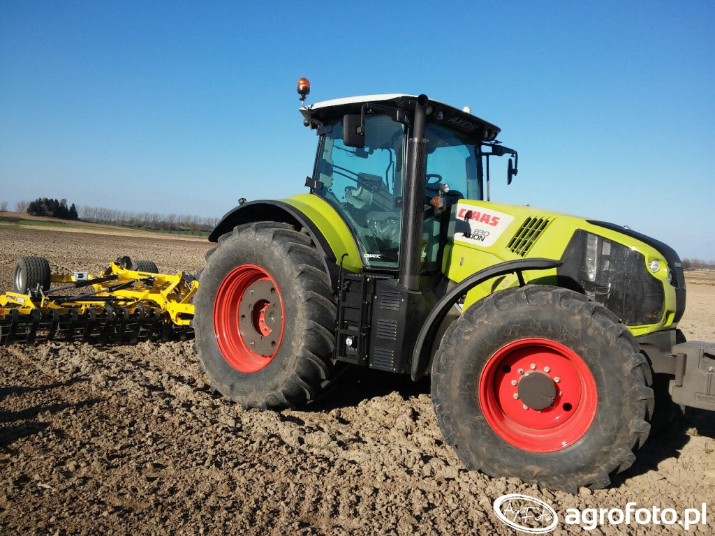 Claas Axion 830cmatic +Bednar 5m