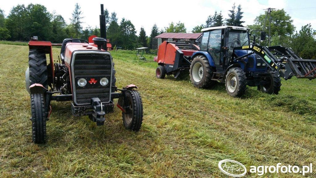 Farmtrac 70 & Massey Ferguson 255