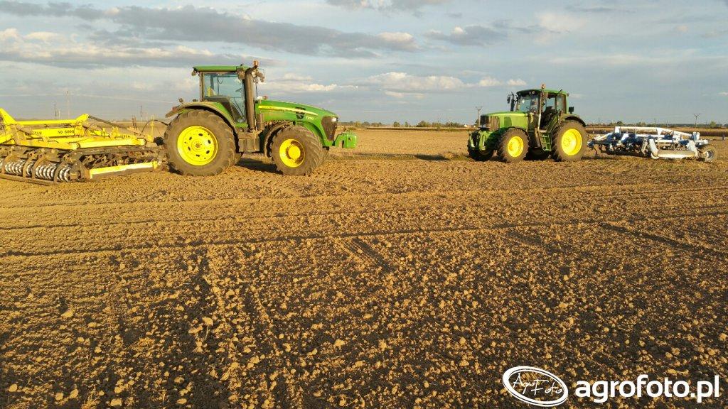 John Deere 7930 & John Deere 6520 premium farmet strom