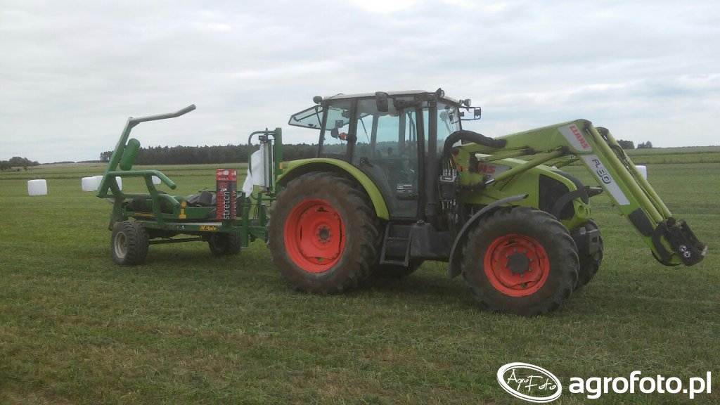 McHale 991bc & Claas Axos 320