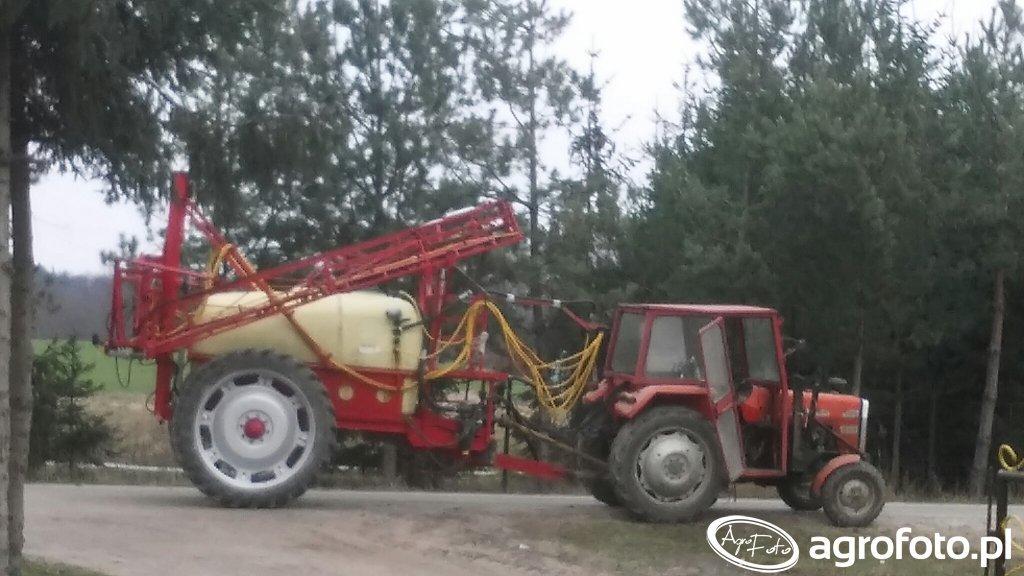 Mf 255 & hardi 2400 litrow