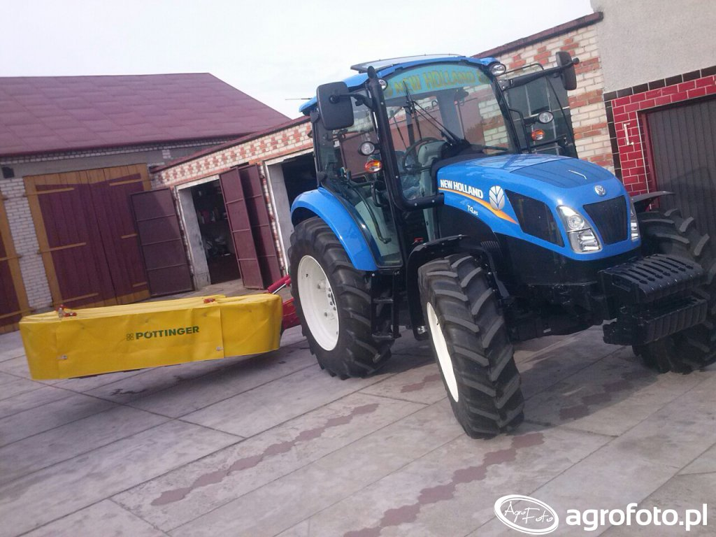 New Holland t4.85 + Pottinger nova disc 225