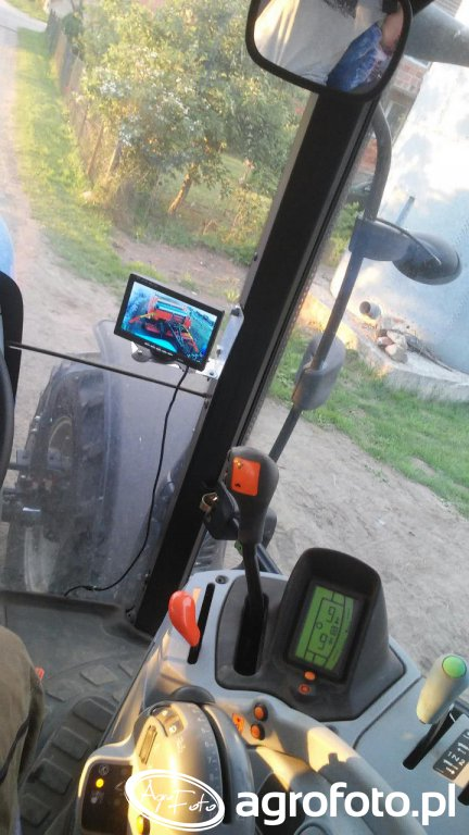 New Holland T6 + monitor kamery cofania