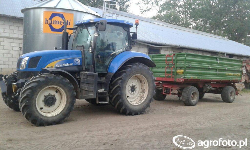 New Holland T6030 RC & Pronar T672