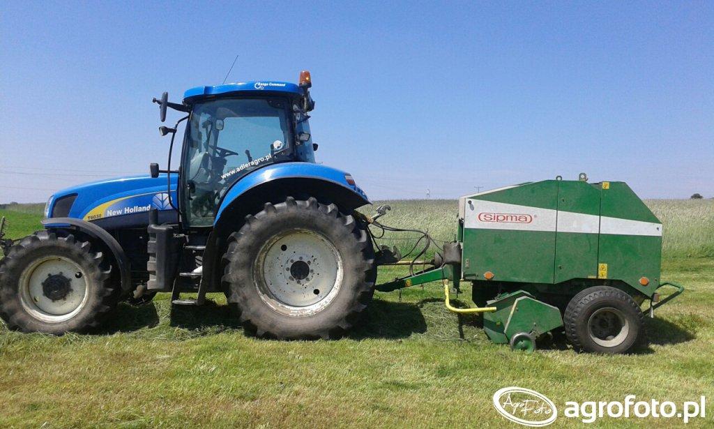 New Holland T6030 RC \u0026 Sipma Z-279/1