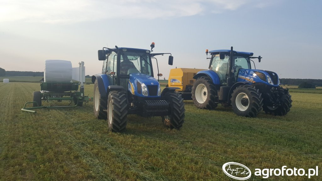 New Holland T7.175 , 5030 & BR6090