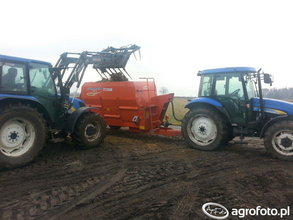 New Holland TD5020 I T5040
